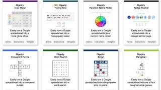 From a Google spreadsheet, create a variety of tools -- from a badge tracker to a crossword puzzle.