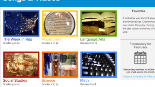 From the site's homepage, click on the Social Studies link.
