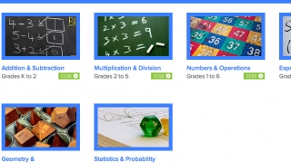A variety of math topics are addressed