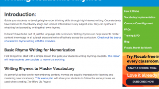 """The """"Writing Academic Rhymes"""" guide could inspire reluctant students."""