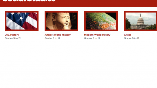 The four unit options offer a wide range of content.