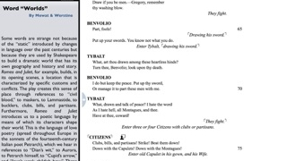 Commentary can be read side-by-side with the text.