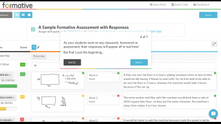 Track student responses in real time.