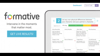 Formative is an assessment tool best suited to the 1-to-1 or BYOD classroom.