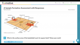 Assignments can include images and text, and student responses can include photos, drawings, writing, and multiple-choice responses.