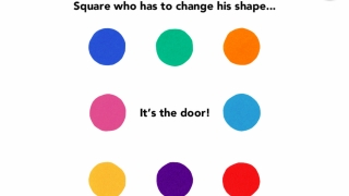 The circles realize they can change the rules so that the square can be included.