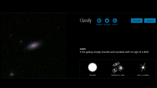 The images used are all actual images of galaxies.