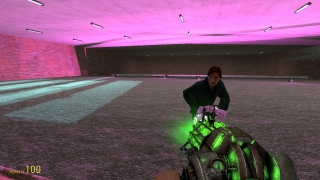 Players can create with mirrored surfaces and adjust lighting.