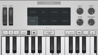 The Alchemy Synth has 150 patches, and you can transform pad shapes and morphs between sounds in realtime.