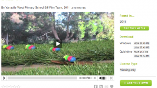 A short stop-motion film created by a fifth-grade class.