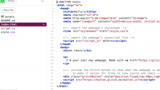 You can view the HTML, CSS, and JavaScript for starter projects.