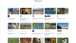 Visit each museum's collection directly.