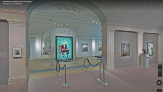 """""""Walk"""" through museums with Street View."""