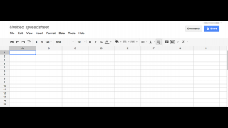 The spreadsheet tool has all of the necessary functionality of MS Excel without the bells and whistles.