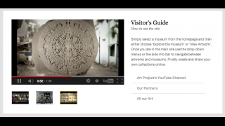 Tutorial videos give an overview of the site's features.