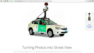 Google's Street View program and technology connect to many engineering and societal conversations.