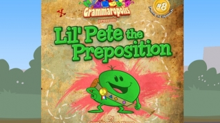 A comic e-book further explains prepositions.