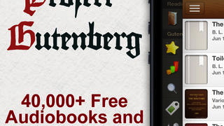 Gutenberg Literature isn't affiliated with Project Gutenberg, though the app offers access to the project's archives.