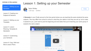 Tutorial videos support new users.