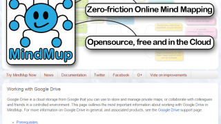 The helpful developer blog displays simple integration with Google Drive.