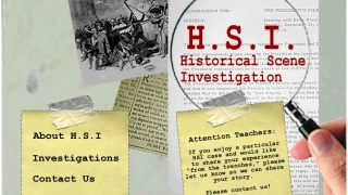 Students investigate significant events in U.S. history.