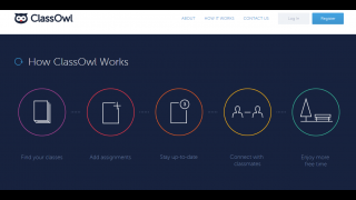 ClassOwl lets teachers create classes and share assignments with their students.