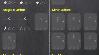 Letters grouped in HWT order include similar starting points or stroke sequences.