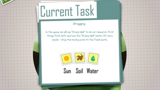 Kids complete a set of timed tasks for each wetland ecosystem.