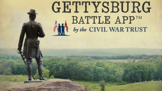 The Gettysburg Battle app lets users explore the history and site of the historic battle.