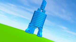 By stacking blocks, kids can build tall structures that model buildings.