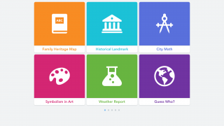 Dozens of lesson and project ideas are included in-app with more resources available on the developer's website.