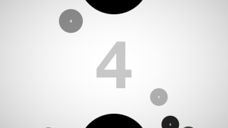 Each level is full of numbered circles.