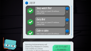 A series of achievements across apps by the same developer adds extra challenge.