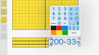 A built-in equation editor makes the math clean and official.