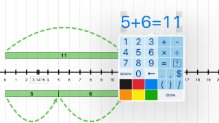 A built-in equation editor lets you do the math right on the screen.