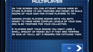The multiplayer mode lets players create their own puzzles and play other peoples' as well.