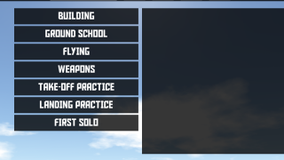 A number of written tutorials and guided takeoff and landing practice get you started.