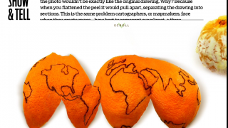 Animations, such as this orange peel map, help illustrate concepts.