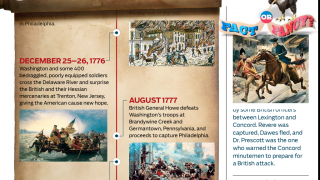 Fact or Fancy? section helps kids learn to analyze historical legends.
