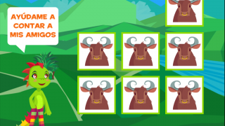 Tap any box to begin counting with Juana.