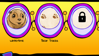 Users can easily navigate to checkpoints within the game's four stages.