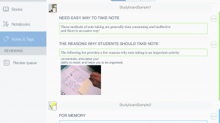 MarginNote lets users annotate texts with highlights and notes.