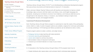 Great text for teachers describes best practices for teaching literacy through social studies.