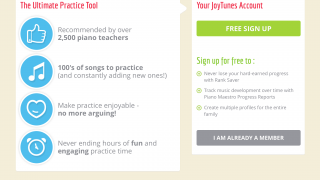 The teacher dashboard gives teachers special access to assign music and track students' progress.
