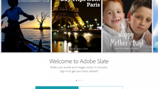 Adobe Slate is a digital storytelling tool.