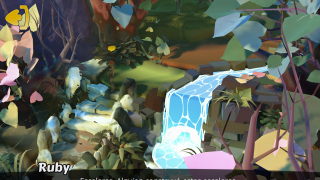 The game's artwork is gorgeous. The cut scenes and levels feature vibrant colors and great imagery.