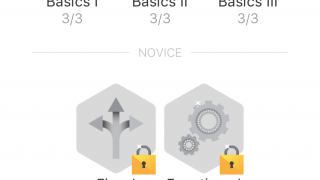 Some of the TapCoding levels (first three are free)