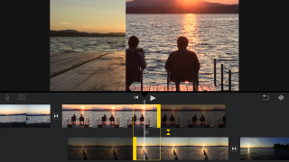 Composite videos and edit transitions to control speed and visual effects.