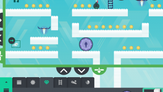 Make your own maze filled with collectibles and enemies.