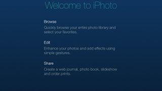 Apple's photo-storage and photo-editing software comes to the iOS.